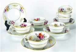 Antique Rockingham China Tea Service