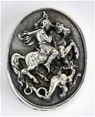 Silver 999HW Henryk Winograd Paperweight