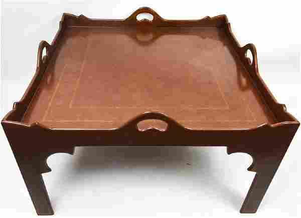 Custom English Georgian Style Coffee Table