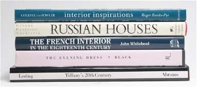 Lot Interior Design / Decorator Coffee Table Books