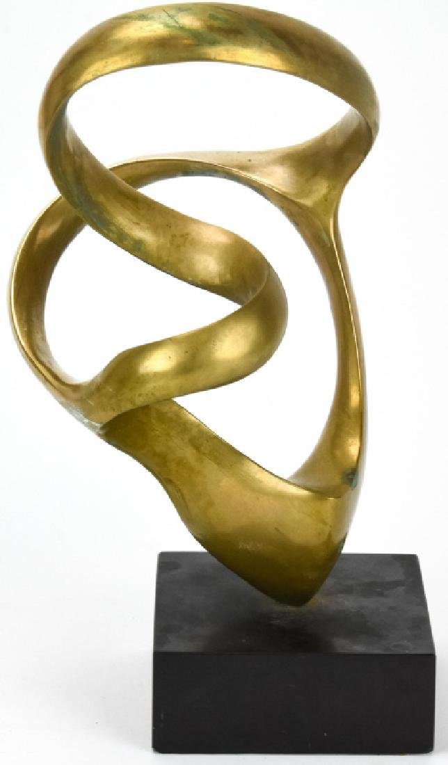 Kieff Antonio Grediaga  Abstract Bronze Sculpture