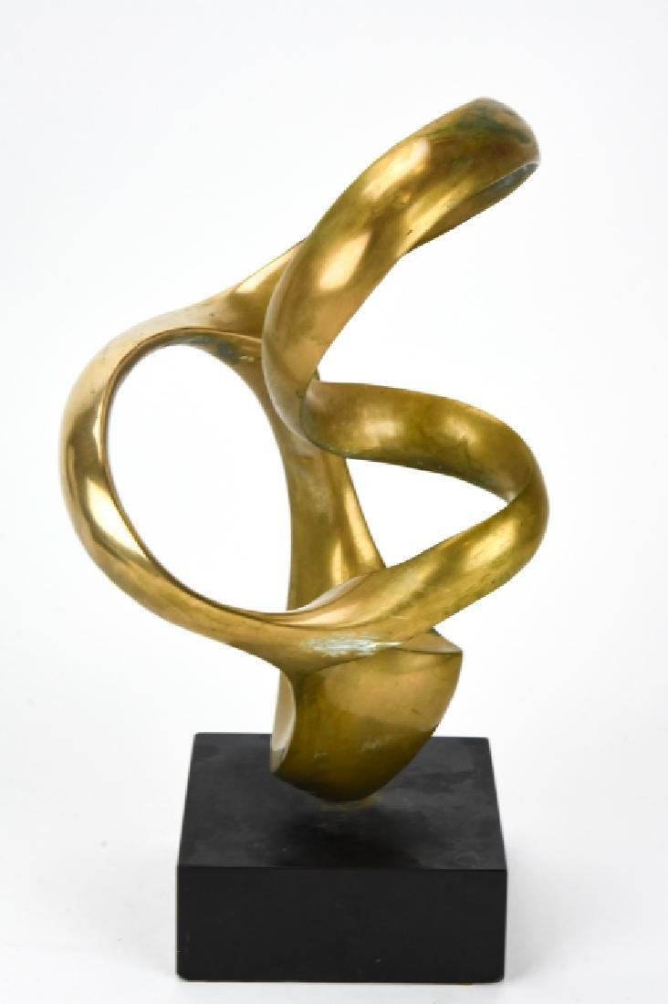 Kieff Antonio Grediaga  Abstract Bronze Sculpture - 2