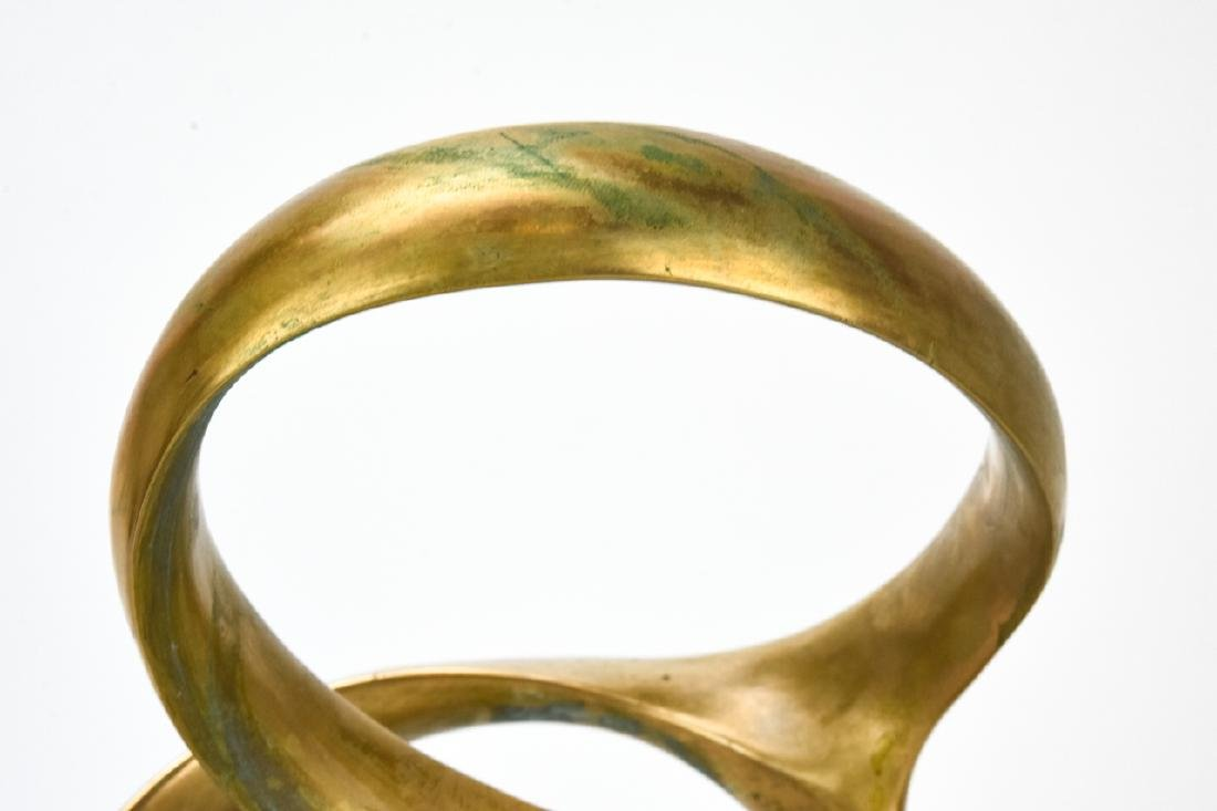 Kieff Antonio Grediaga  Abstract Bronze Sculpture - 4