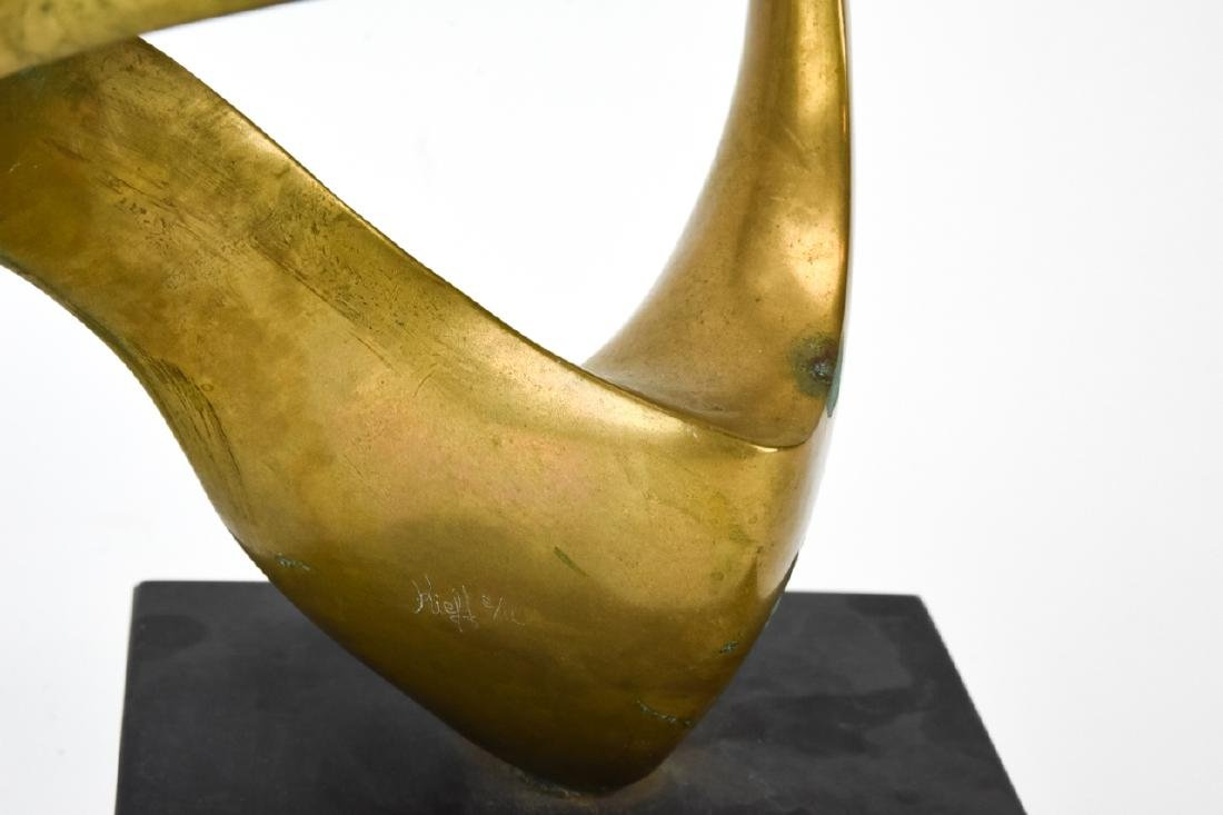 Kieff Antonio Grediaga  Abstract Bronze Sculpture - 6