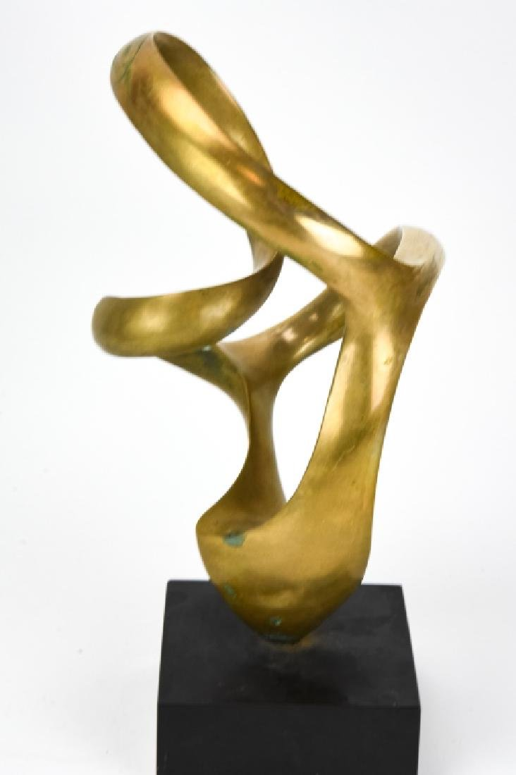 Kieff Antonio Grediaga  Abstract Bronze Sculpture - 8