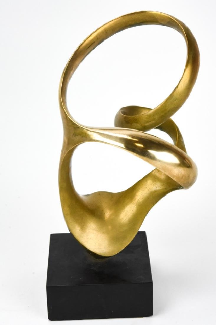 Kieff Antonio Grediaga  Abstract Bronze Sculpture - 9