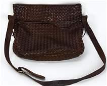 Bottega Veneta Italian Woven Leather Handbag