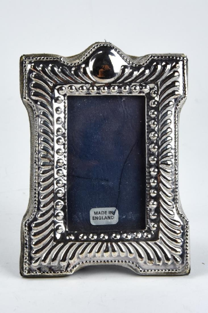 3 Sterling Silver Small Picture Frames Inc Tiffany - 10