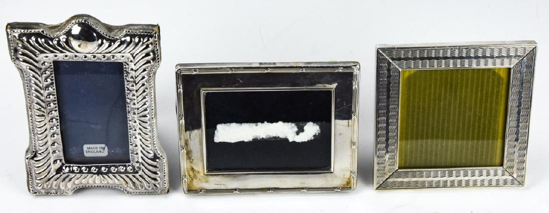 3 Sterling Silver Small Picture Frames Inc Tiffany