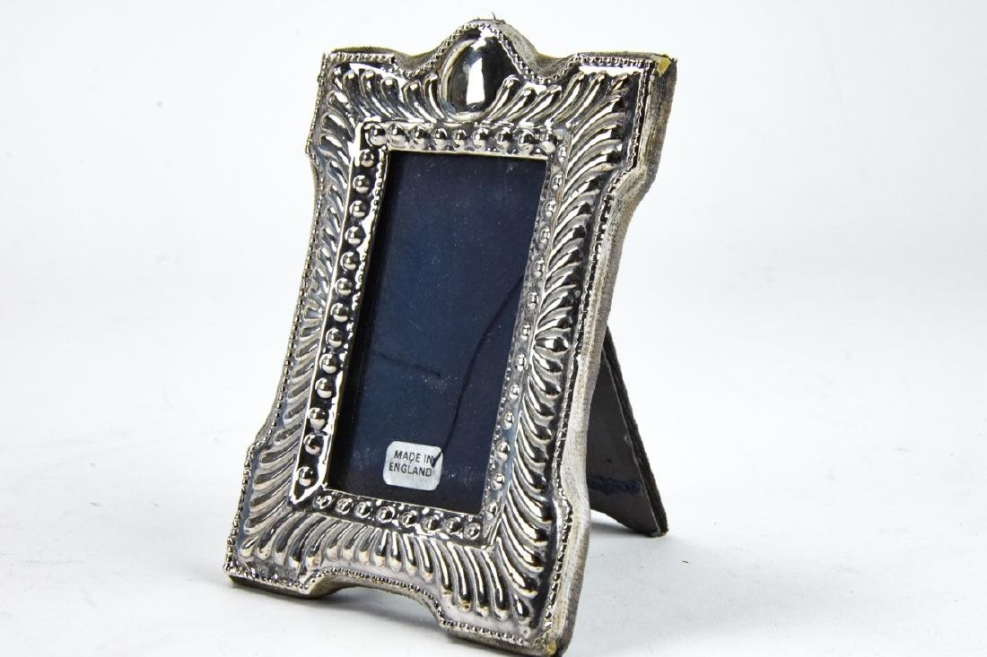 3 Sterling Silver Small Picture Frames Inc Tiffany - 2