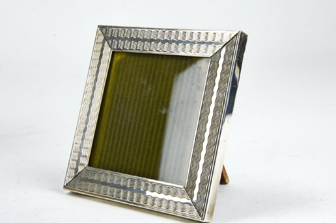 3 Sterling Silver Small Picture Frames Inc Tiffany - 5