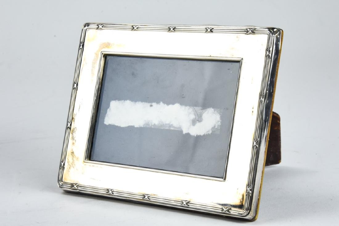 3 Sterling Silver Small Picture Frames Inc Tiffany - 8