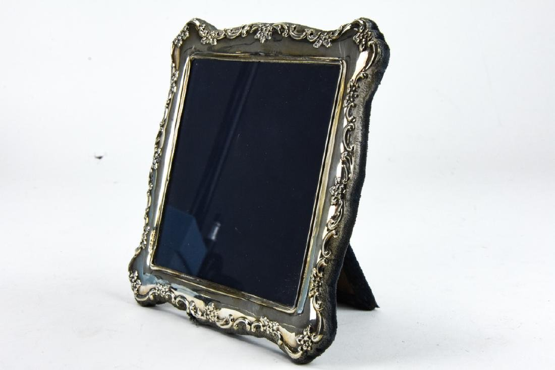 3 Sterling Silver Standing Picture Frames - 2