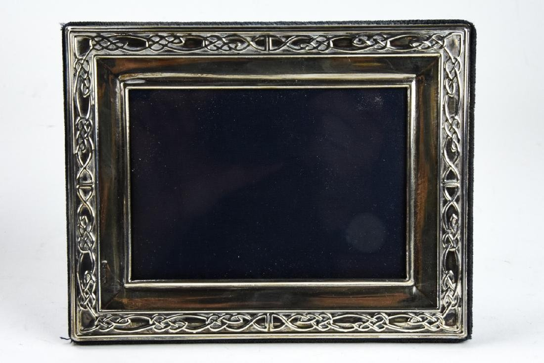 3 Sterling Silver Standing Picture Frames - 7