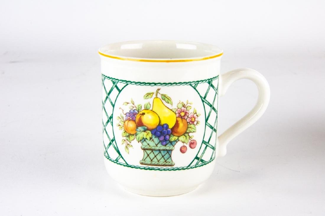 Six Villeroy & Boch Country Collection Mugs / Cups - 5