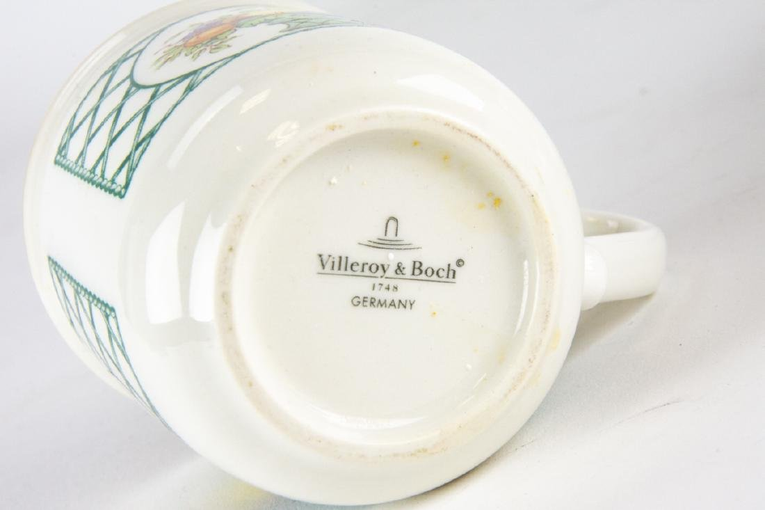 Six Villeroy & Boch Country Collection Mugs / Cups - 7