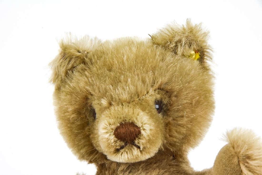 Vintage German Steiff Mohair Teddy Bear w Button - 2