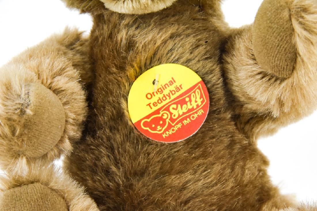 Vintage German Steiff Mohair Teddy Bear w Button - 3