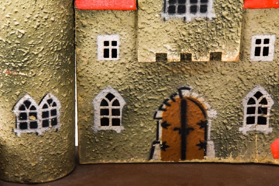Antique German Dollhouse Miniature Castle / Fort - 4
