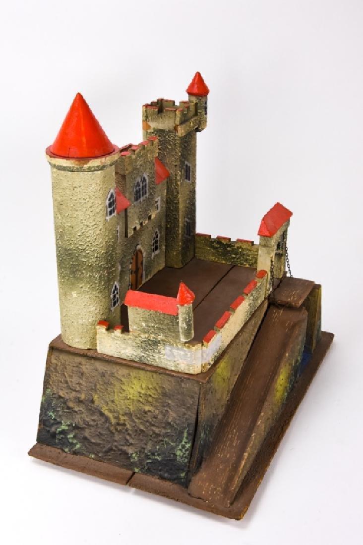Antique German Dollhouse Miniature Castle / Fort - 6