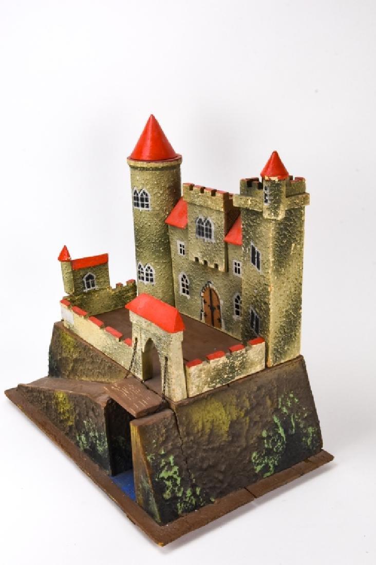 Antique German Dollhouse Miniature Castle / Fort - 7