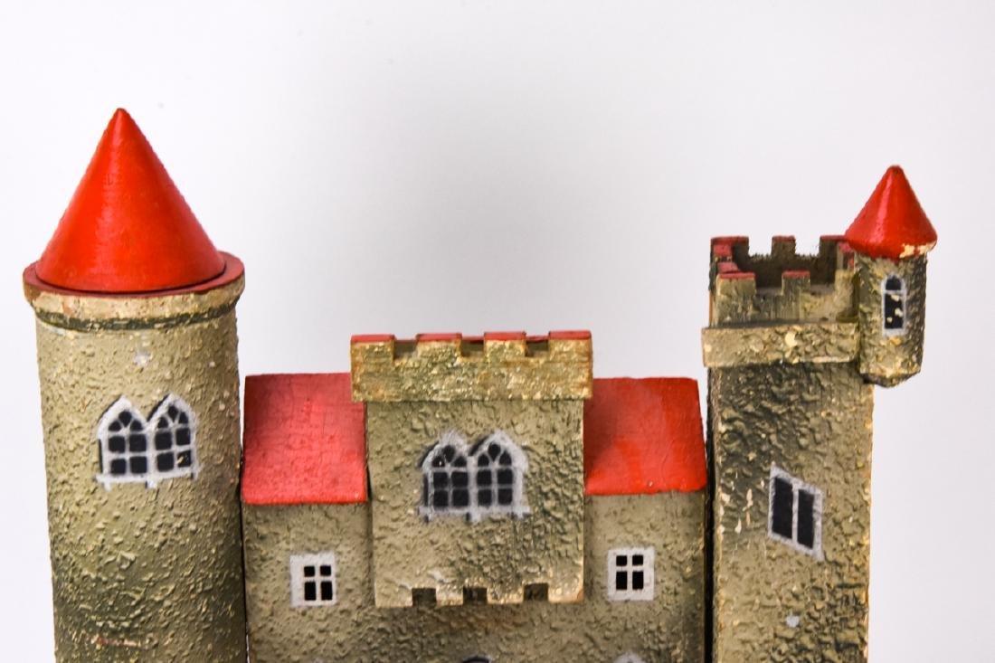 Antique German Dollhouse Miniature Castle / Fort - 8