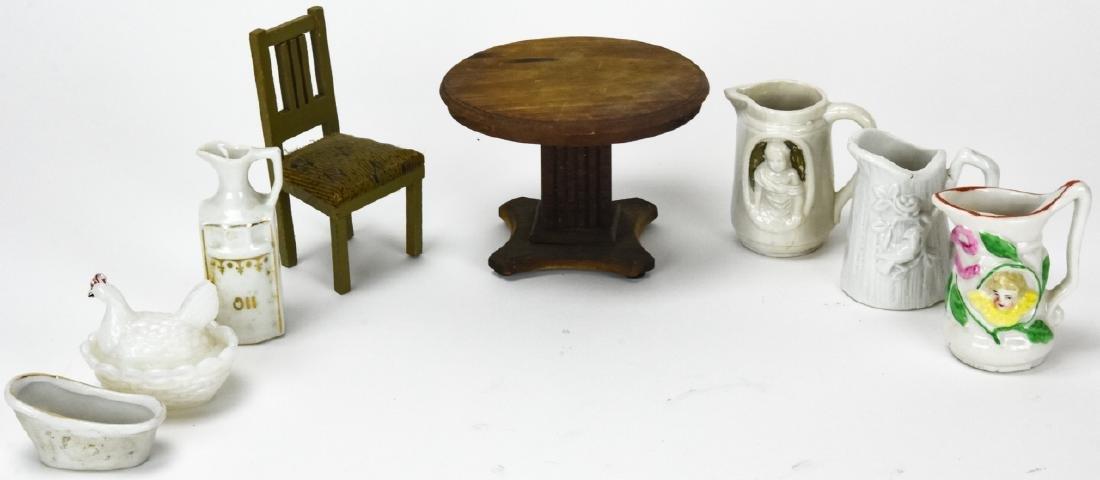 Antique Dollhouse Furniture & Miniatures