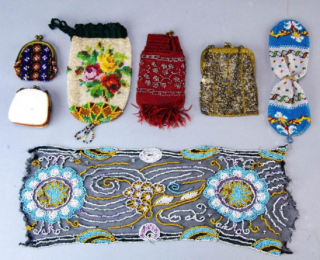 Collection of Antique & Vintage Beaded Purses