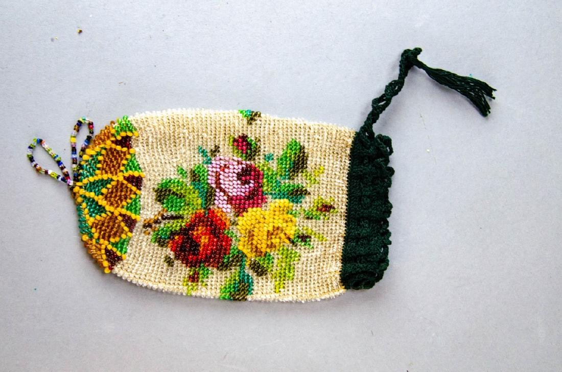 Collection of Antique & Vintage Beaded Purses - 4