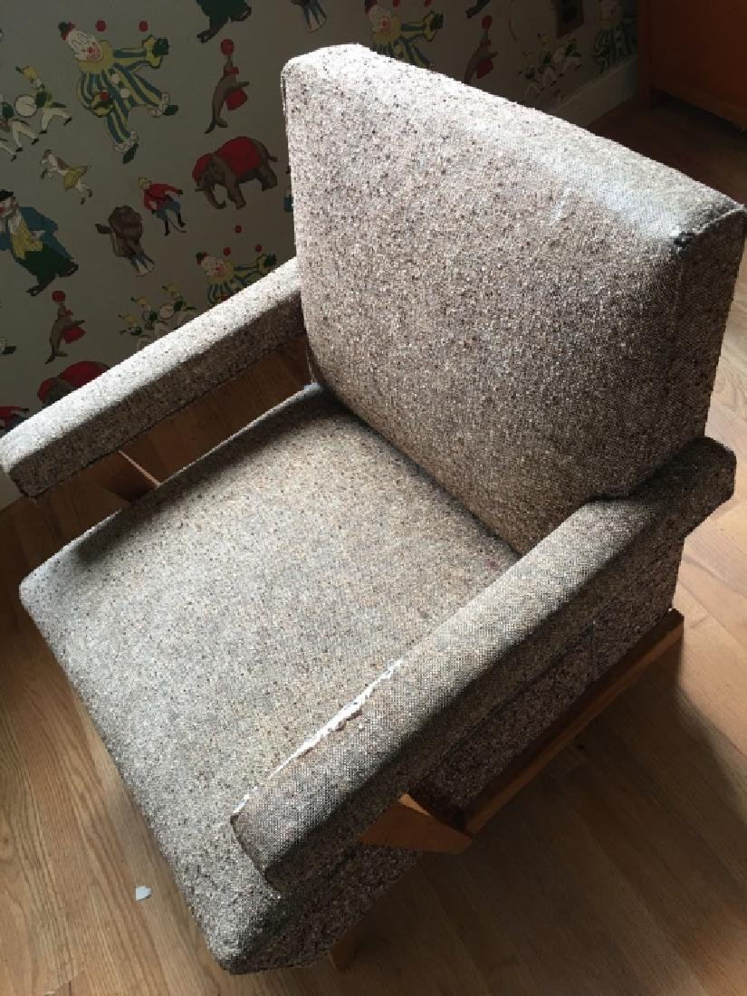 Mid Century Modern Style Upholstered Arm Chair - 3
