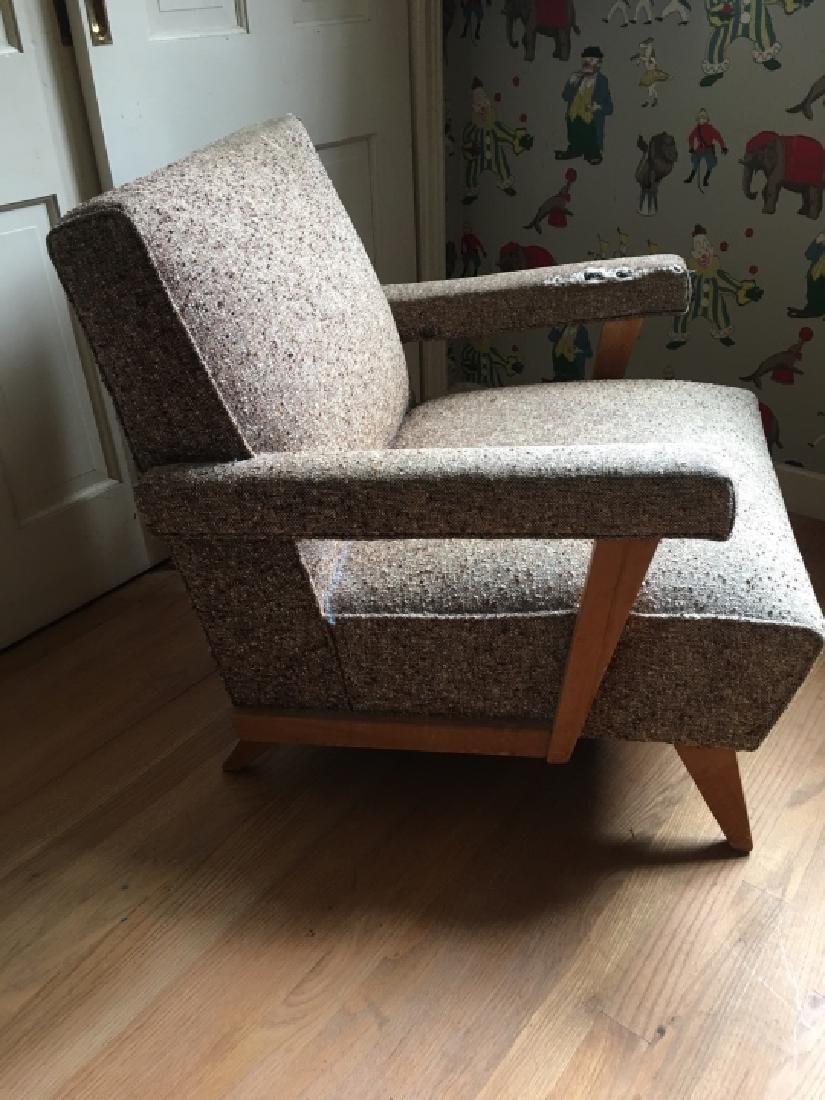 Mid Century Modern Style Upholstered Arm Chair - 4