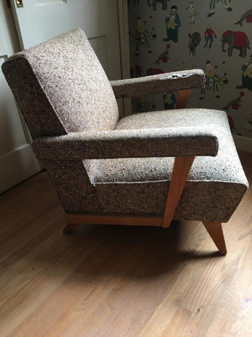 Mid Century Modern Style Upholstered Arm Chair - 5