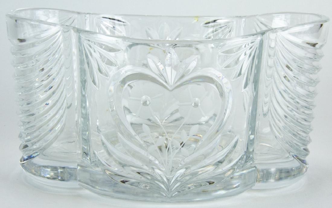 Imperia Crystal Decorative Centerpiece / Bowl