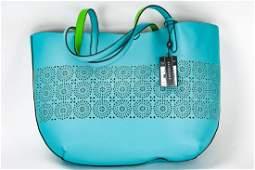 Lauren Ralph Lauren Littlebury Leather Tote Bag