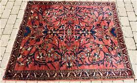 Oriental Kerman Style Hand Knotted Wool Rug