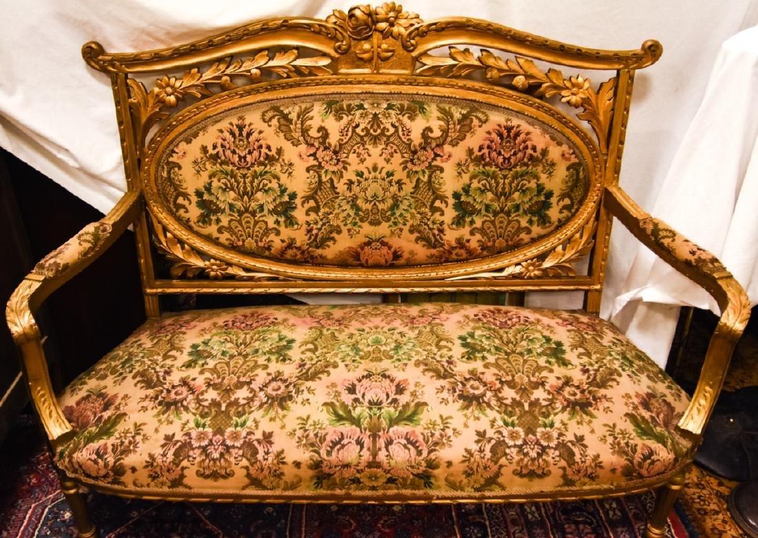 Antique Louis XVI Style Settee