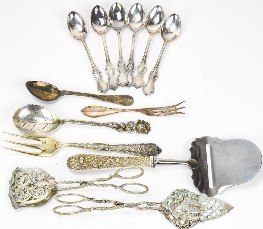 Group of Sterling & 800 Silver Serving Utensils