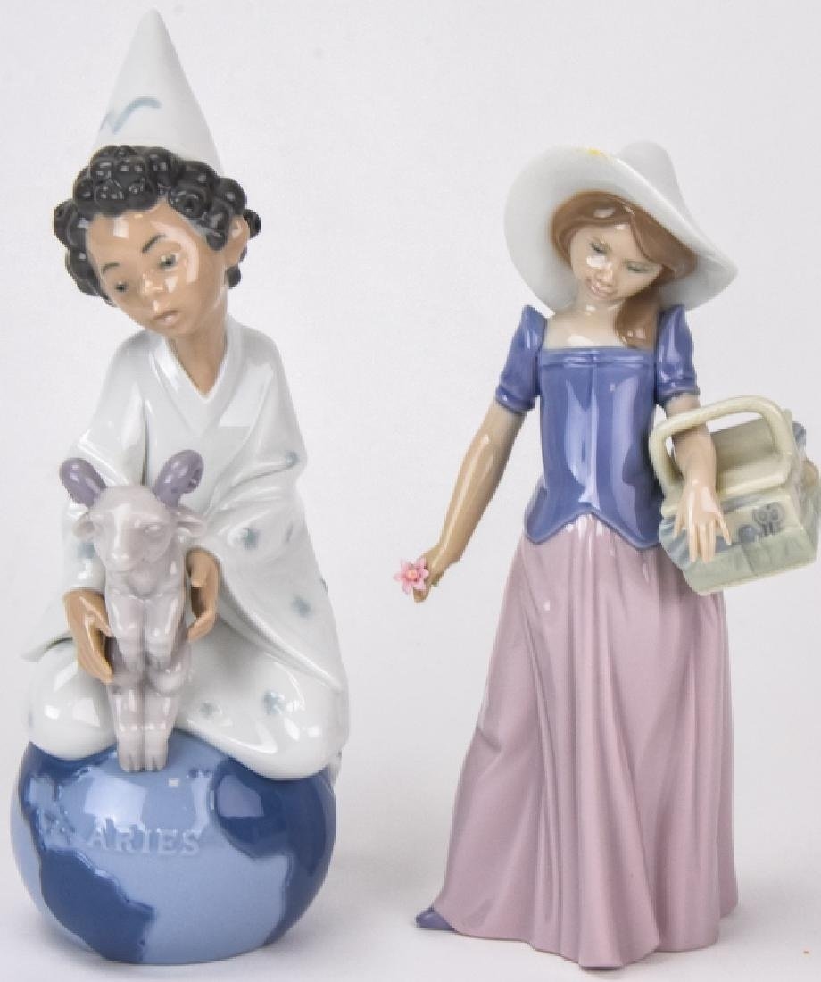 Two Lladro Porcelain Figurines New in Boxes