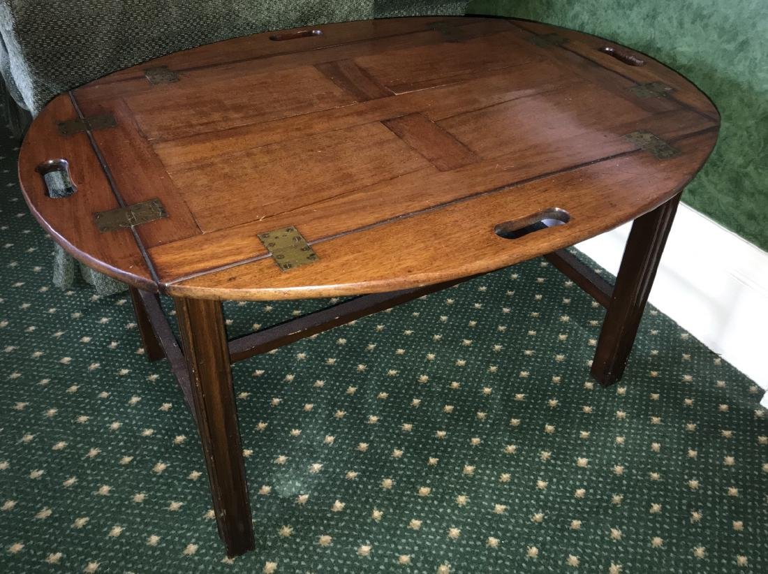 Antique English George III Style Coffee Table