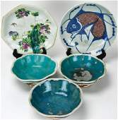 Collection of Asian Porcelain Bowls & Plates