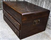 Large Antique PW Taylor Brooklyn Silver Chest