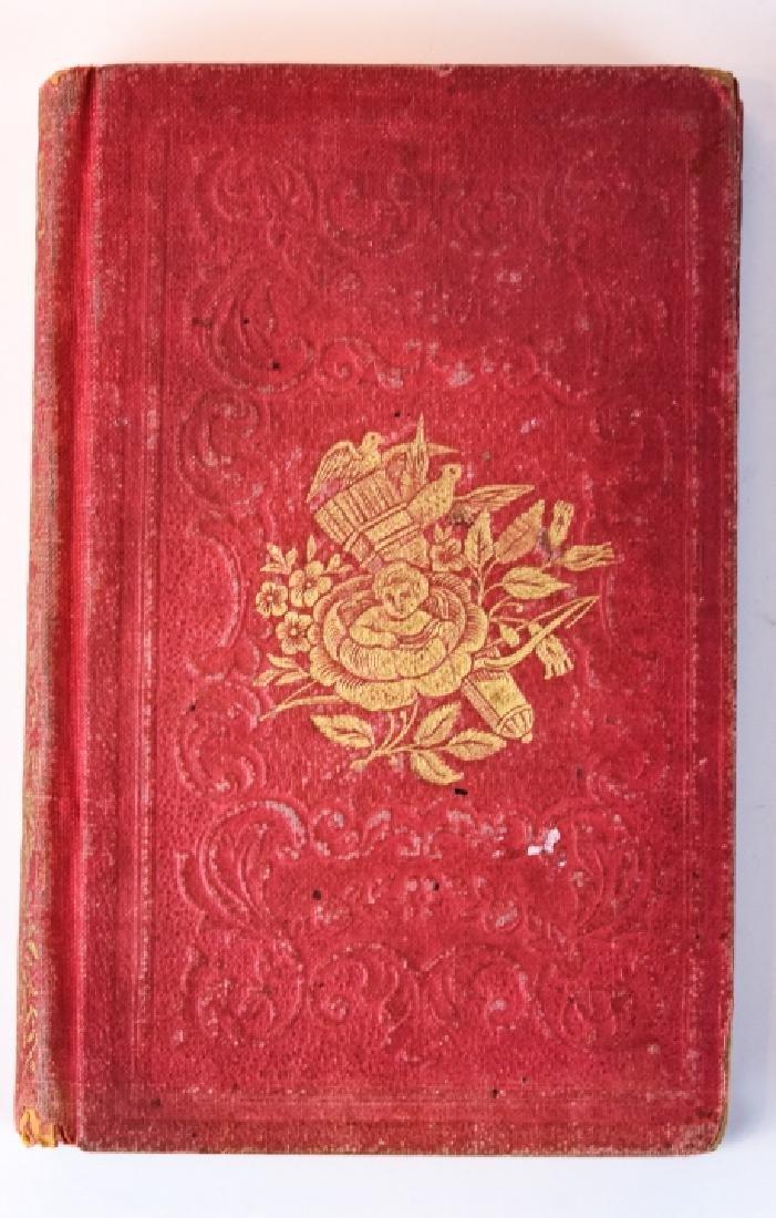 """Antique 19th C Miniature Book """"The Ladies Token"""""""