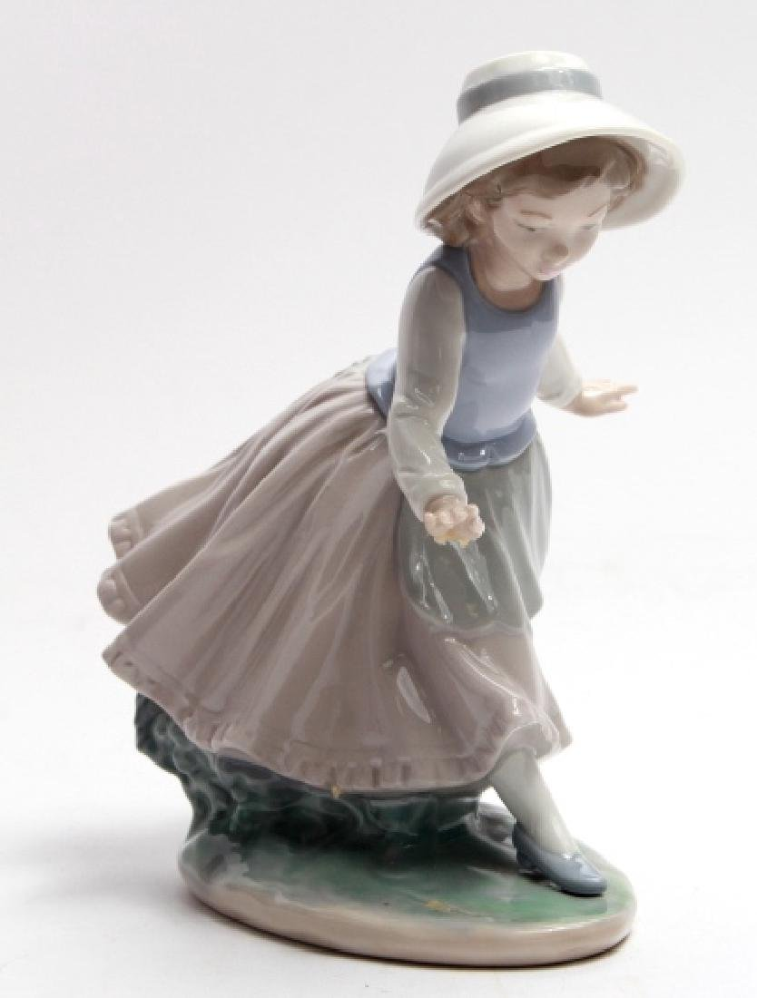 Nao by Lladro Porcelain Figurine of Young Girl