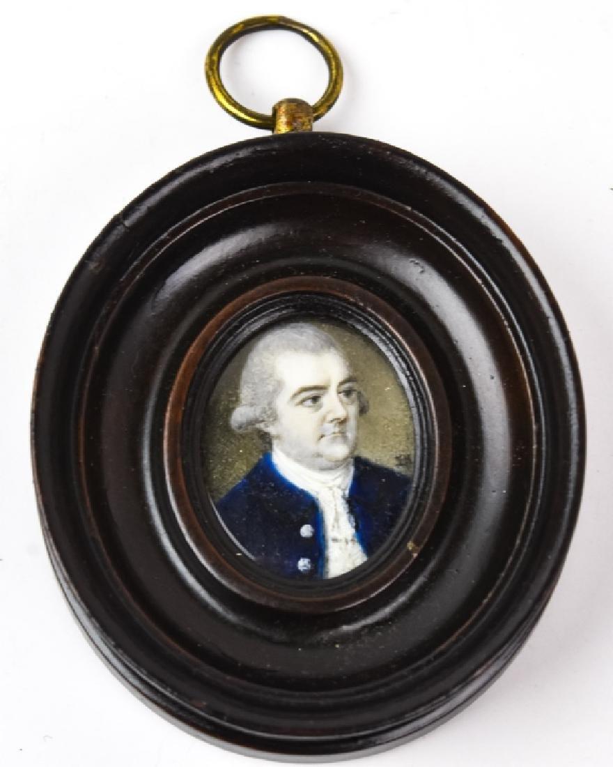 Antique Circa 1800 English Georgian Miniature