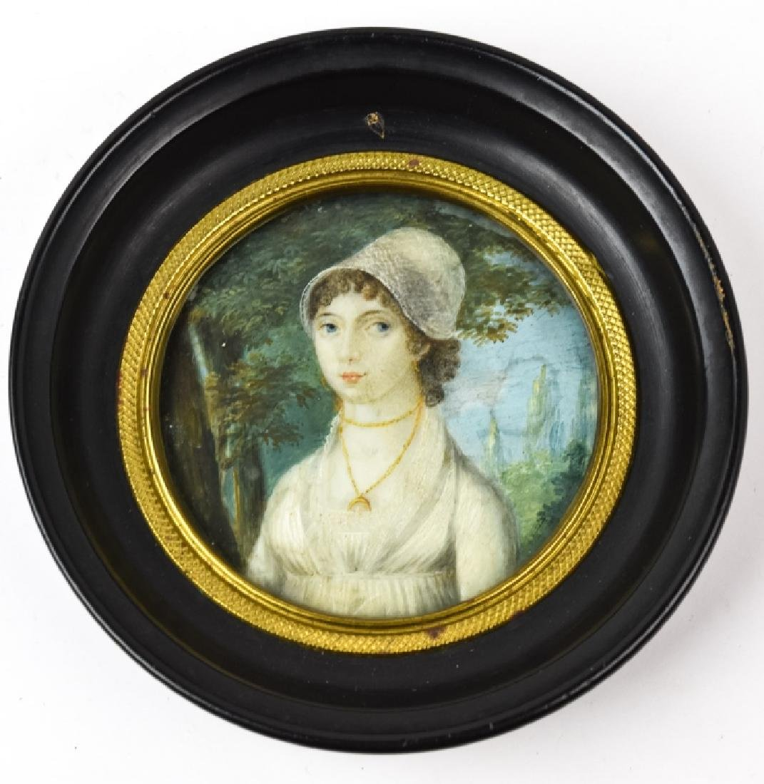 Antique Circa 1800 English Georgian Miniature