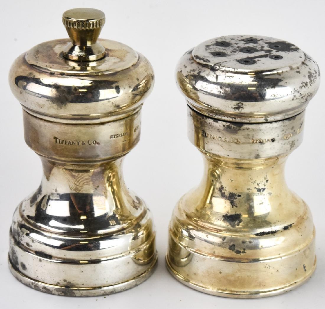 Tiffany & Co Sterling Silver Salt & Pepper Shakers