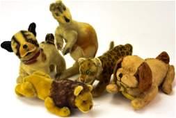Antique Toys - German Steiff Stuffed Animals
