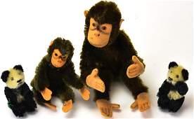 Antique Toys - German Steiff Bears & Monkeys