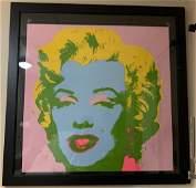 Andy Warhol Marilyn Monroe Pop Art Framed Print