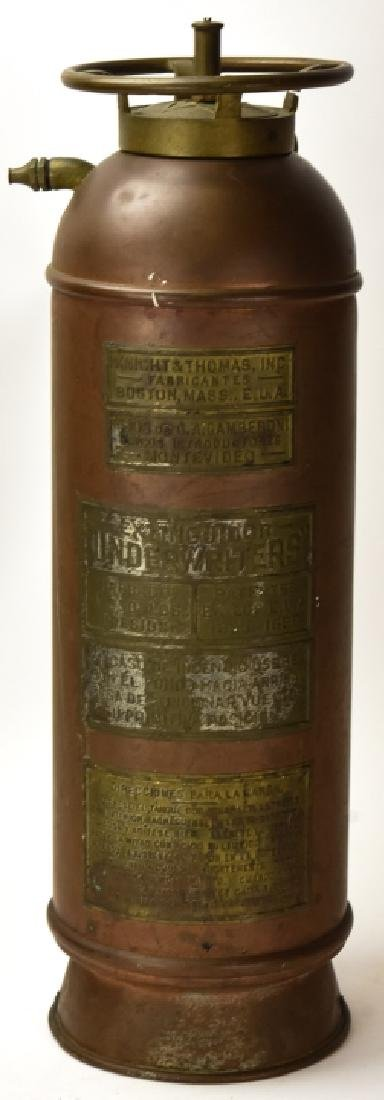 Knight Thompson Copper Fire Extinguisher Jul 14 2019